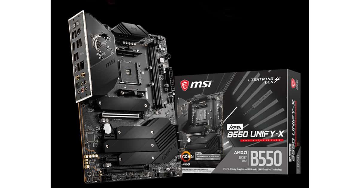 MSI B550 Unificar X